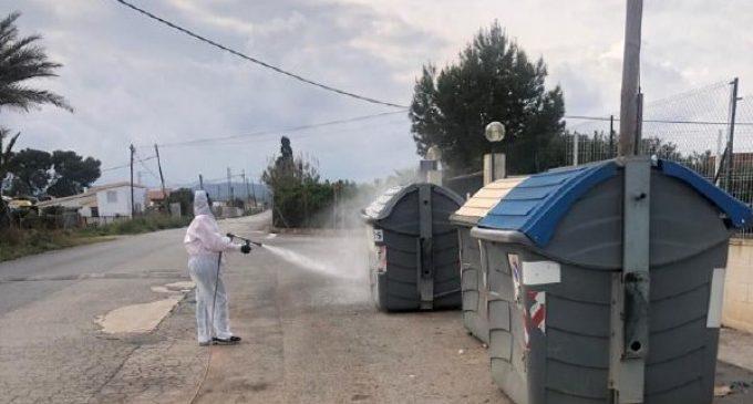 Benicarló fa un desplegament sense precedents de serveis de desinfecció i neteja