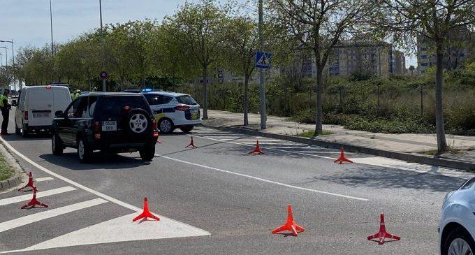 La Policia Local de Borriana intensifica la vigilància i controls davant el pont de l'1 de maig