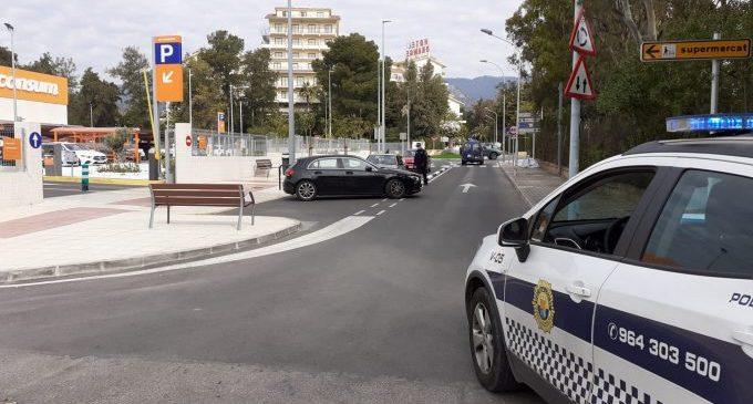 La Policia Local de Castelló realitza 271 denúncies en tres setmanes per no portar mascareta