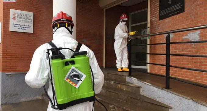 Els bombers de la Diputació podran realitzar una desinfecció per setmana en tots els pobles de la província