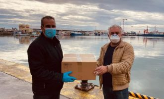 L'Ajuntament de Borriana reparteix 6.000 màsqueres en un primer lliurament