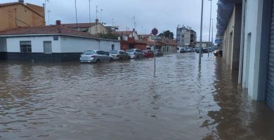 Continúa la alerta naranja por lluvias fuertes en el litoral sur de Castelló hasta el mediodía