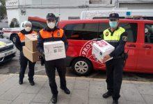 El material de protecció de la Diputació arriba a la Vall d'Uixó per a combatre el coronavirus