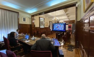 La Diputació aprova una declaració institucional per a fer front des de la unitat a la COVID-19