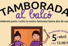 Vila-real viu la Setmana Santa amb una Tamborada local als balcons i programació televisiva especial amb celebracions en directe, processons i reportatges