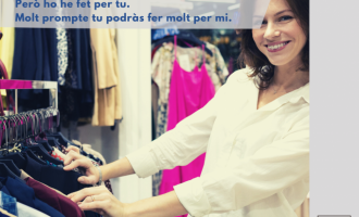 Borriana i la Federació de Comerç llancen una campanya de conscienciació per a comprar en el comerç local