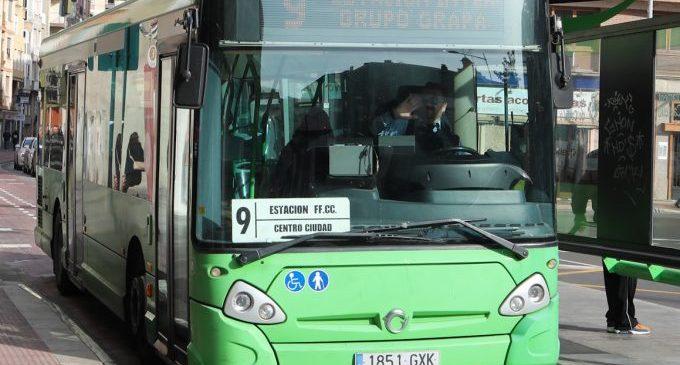 Castelló presta ja el 80% del servei ordinari de transport públic reduït per la covid-19