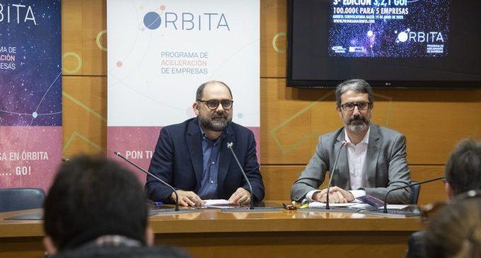 Diputación y CEEI Castellón mantienen abierta la convocatoria del Programa Órbita hasta el 19 de junio