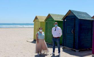 Turisme i Seguretat coordinen les mesures per a reobrir les platges de Castelló dilluns que ve