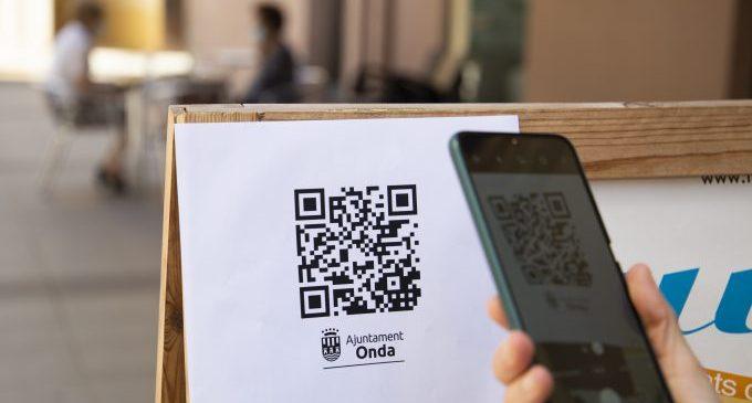 Onda implanta un servei gratuït per a digitalitzar les cartes dels establiments hostalers