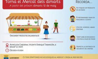 El solar de l'antiga fàbrica La Joya a Borriana acollirà de forma provisional el mercat dels dimarts