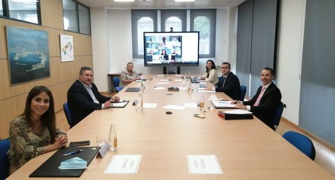 El vicepresident de PortCastelló agraeix en el Consell d'Administració l'esforç de la Comunitat Portuària per a pal·liar els efectes de la COVID-19