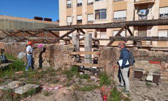 L'Alcora retoma las obras de rehabilitación de la Real Fábrica del Conde de Aranda