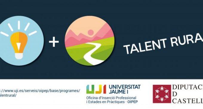 La Diputació de Castelló i l'UJI impulsaran un programa per fomentar les pràctiques en l'entorn rural