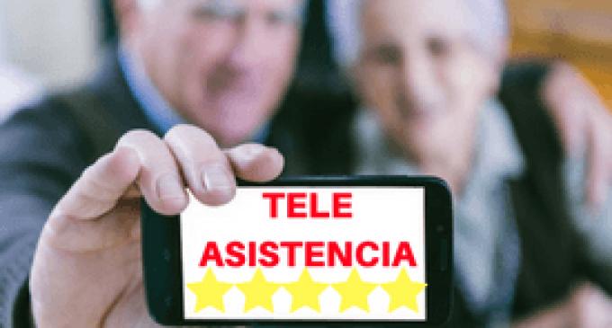 Els Serveis Socials de Borriana realitzen el seguiment permanent a 124 persones usuàries de la Teleassistència Domiciliària