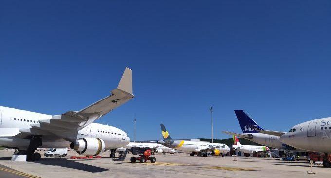 L'aeroport de Castelló es reforça amb un acord de deu anys per a l'estacionament i desmuntatge d'avions