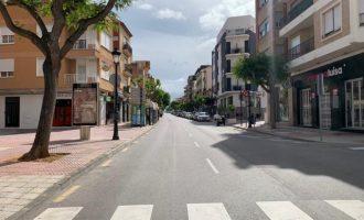 Benicàssim tancarà al trànsit el carrer Sant Tomàs i av. Castelló els caps de setmana
