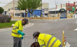 L'Ajuntament de Borriana i Facsa inicien la campanya preventiva de control de plagues al clavegueram