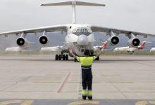 La Comunitat Valenciana rep els vols número 18 i 19 amb material sanitari procedent de la Xina