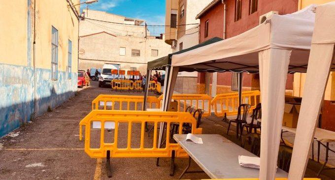 Borriana repartirà demà més mascaretes per a la població de la zona 4 en la Llar Fallera