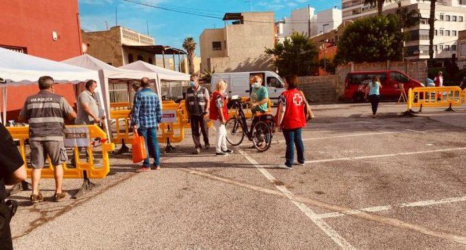 Borriana repartirà demà masqueretes entre la població de 14 a 64 anys de la zona 2 al Jardí del Bes