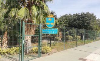 Borriana reobri els horts d'oci municipals 'Parc de Calatrava', però amb condicions d'entrada i ús