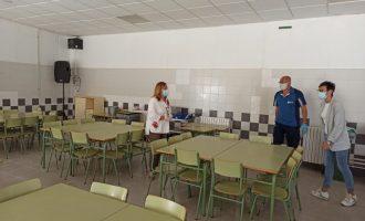 Benicàssim posa a punt les instal·lacions dels centres educatius