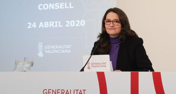 Oltra recibe el I Premio de los Servicios Sociales Europeos 2020