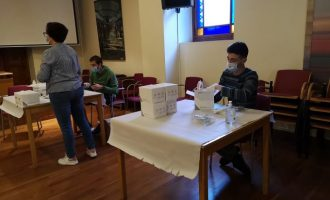 L'Ajuntament de la Vall d'Uixó inicia demà el repartiment a domicili de mascaretes per als majors de 60 anys