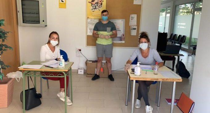 Comença el repartiment de les 6.000 mascaretes adquirides per l'Ajuntament d'Almenara
