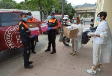 Benicàssim inicia el repartiment de 25.000 mascaretes