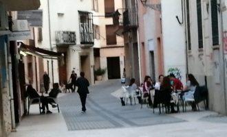 Els bars i cafeteries de Benicarló poden demanar ampliació de terrasses de manera excepcional