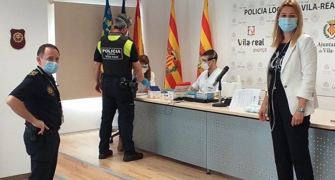 Vila-real, primer municipi de la província a realitzar tests ràpids per a la detecció de la COVID-19 a la plantilla de Policia Local i Protecció Civil