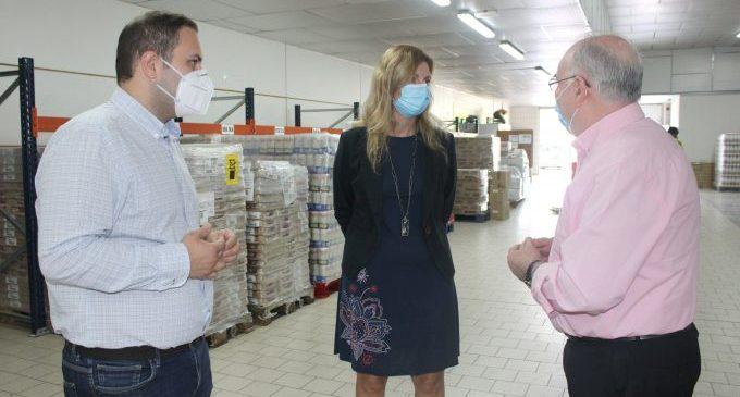 Castelló aumentará el apoyo económico al Banco de Alimentos