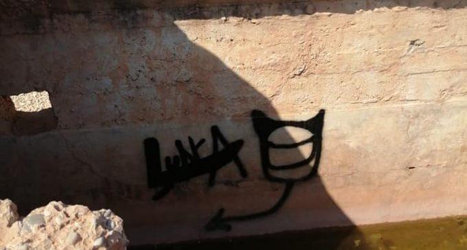 Investiguen un acte vandàlic als blocaus de Nules