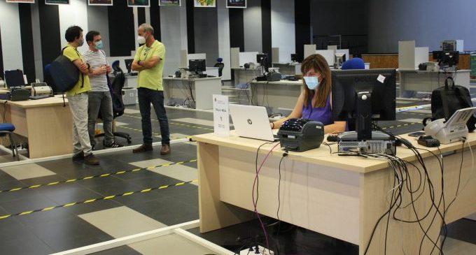 Restablert el 100% del servei d'atenció presencial al Palau de la Festa després del ciberatac