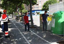 Castelló bat el rècord de reciclatge per segon mes consecutiu en recuperar més de 525 tones de residus