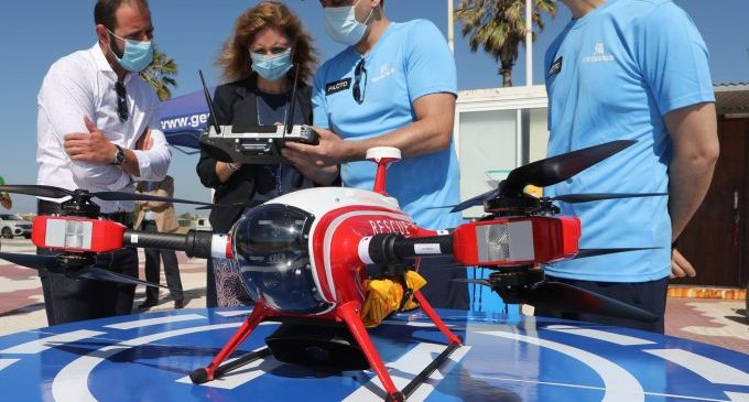 Castelló controlarà l'ocupació de les seues platges amb dron i intel·ligència artificial per a evitar concentracions