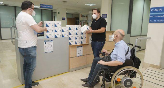 El Ayuntamiento reparte 12.000 mascarillas entre asociaciones y entidades sociales de Castelló