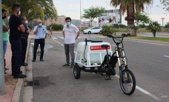 Castelló garanteix les desinfeccions a vies públiques i platges amb mig centenar d'efectius