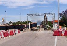 Comencen les feines d'enderroc del peatge Vinaròs-Ullecona de l'AP-7