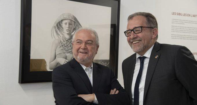 La Diputació reobri Les Aules amb l'exposició de pintura d'Amat Bellés i garantint totes les mesures de protecció
