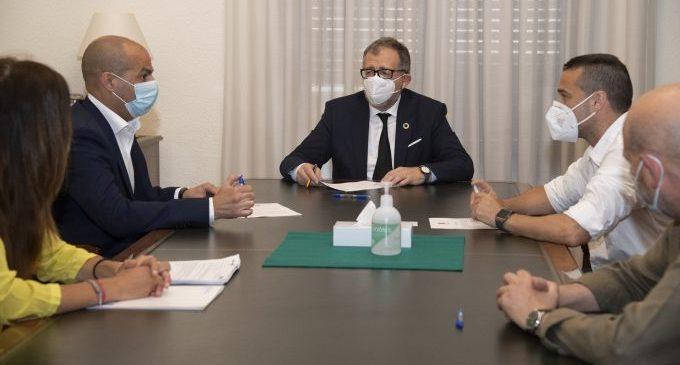 La Diputació signa amb Eurocaja Rural i Abanca la pòlissa de 15 milions d'euros que li proporciona liquiditat