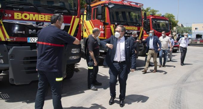 La Diputació i la Generalitat activen a la província un dispositiu contra incendis amb 750 efectius, 200 vehicles i 5 mitjans aeris