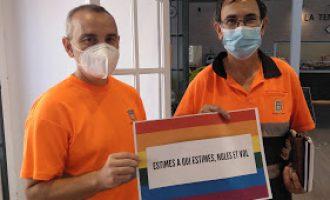 """Nules apoya al colectivo lgtbi con la campaña """"km por la diversidad"""""""