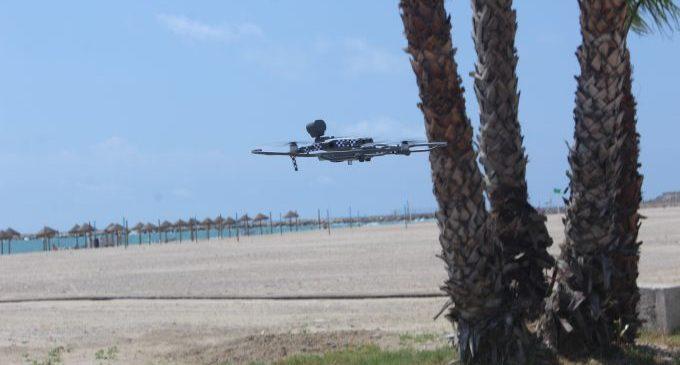 Borriana crea la Unidad de Vigilancia y Prevención Aérea para proteger sus playas