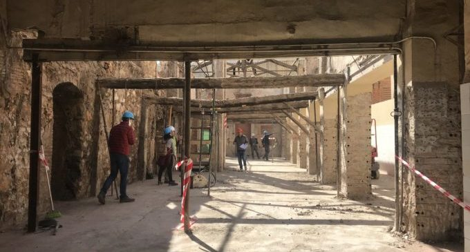 L'Alcora habilitarà una zona d'acolliment i informació al visitant a la Reial Fàbrica