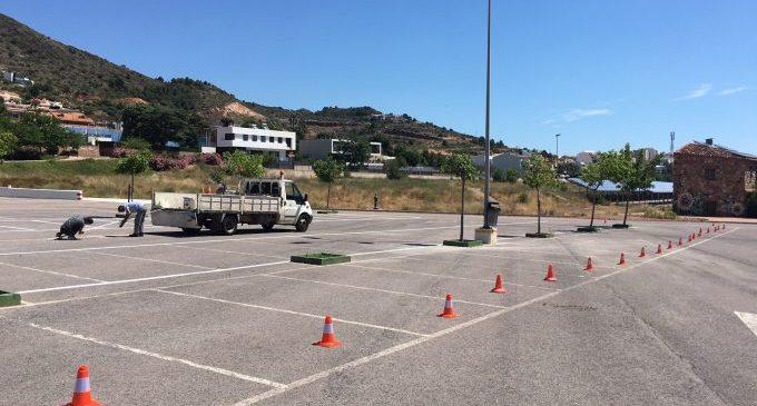 L'Ajuntament de la Vall d'Uixó millora l'aparcament de Sant Josep de cara a la temporada turística