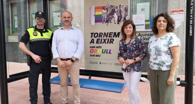 El Ayuntamiento de la Vall d'Uixó presenta la campaña del Orgullo 2020 bajo el lema 'Tornem a eixir amb més orgull que mai'