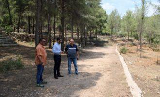 L'Alcora abre la zona de acampada y la de paelleros del paraje de San Vicente